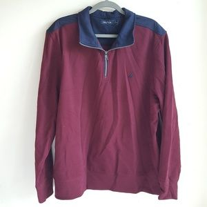 Nautica Pullover Zip up Sweatshirt